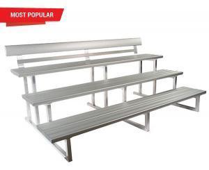 Felton 3 Tier Double Plank Spectator Seating
