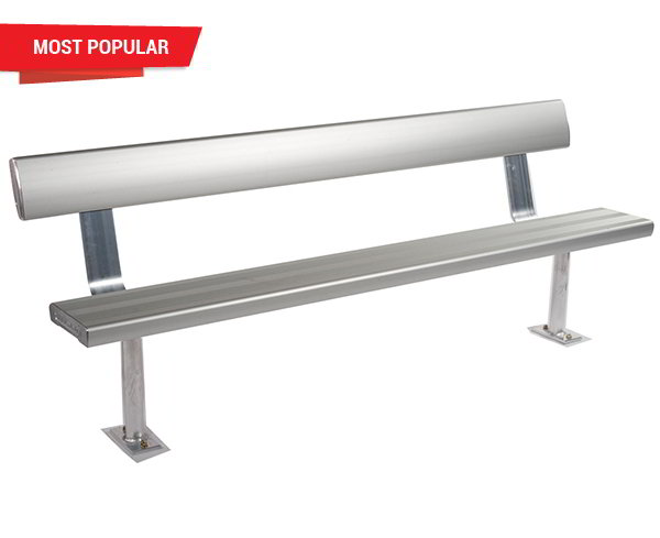 Felton Above Ground Bench Seat With Backrest