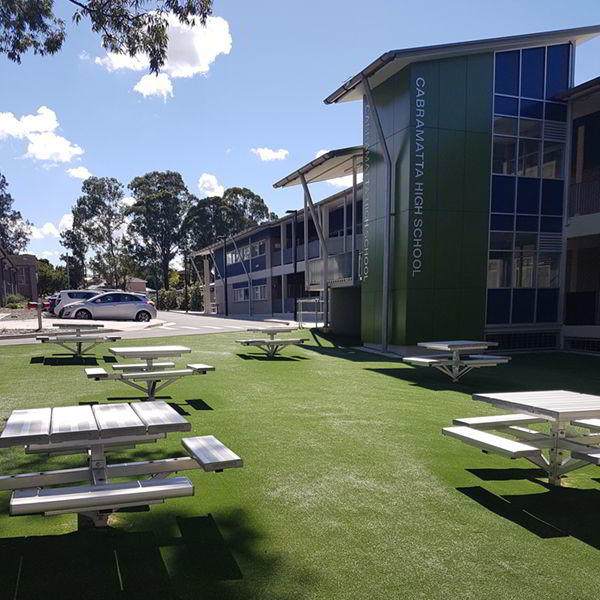 Felton Compact Park Setting at Cabramatta High School