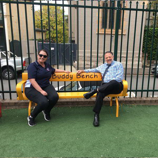 Felton Buddy Bench at Fr John Therry Catholic Primary School Balmain