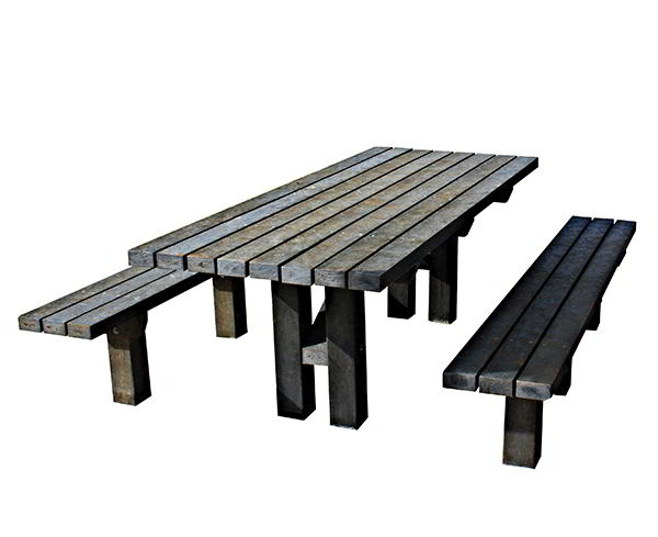 Peak In-Ground Picnic Table