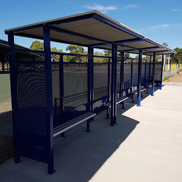 Felton Modular Bus Shelter at Lachlan Shire Council