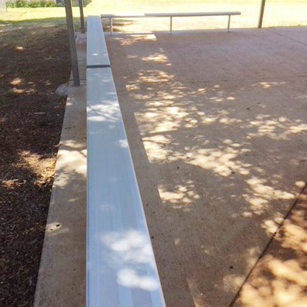 Felton Above Ground Bench Seat at Middle Ridge State School