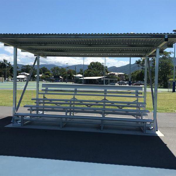 Felton Sunsafe Select Grandstand at Cairns Netball