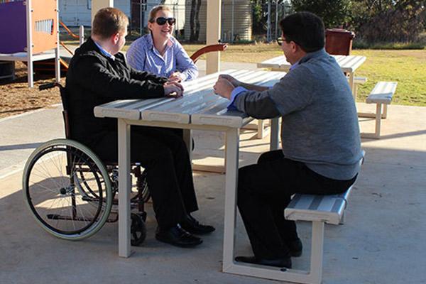 Felton Standard Wheelchair Setting
