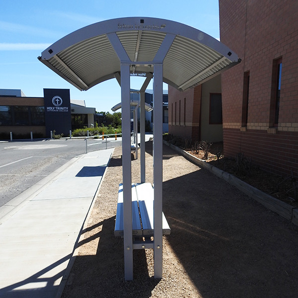 Felton Double Bench Shelter Lutheran College
