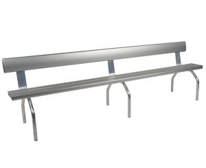 3 Mtr Free-Standing Bench Seat with Backrest