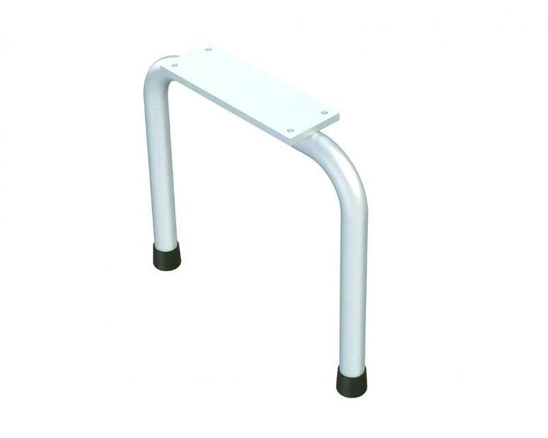 Free standing support mount for bench.