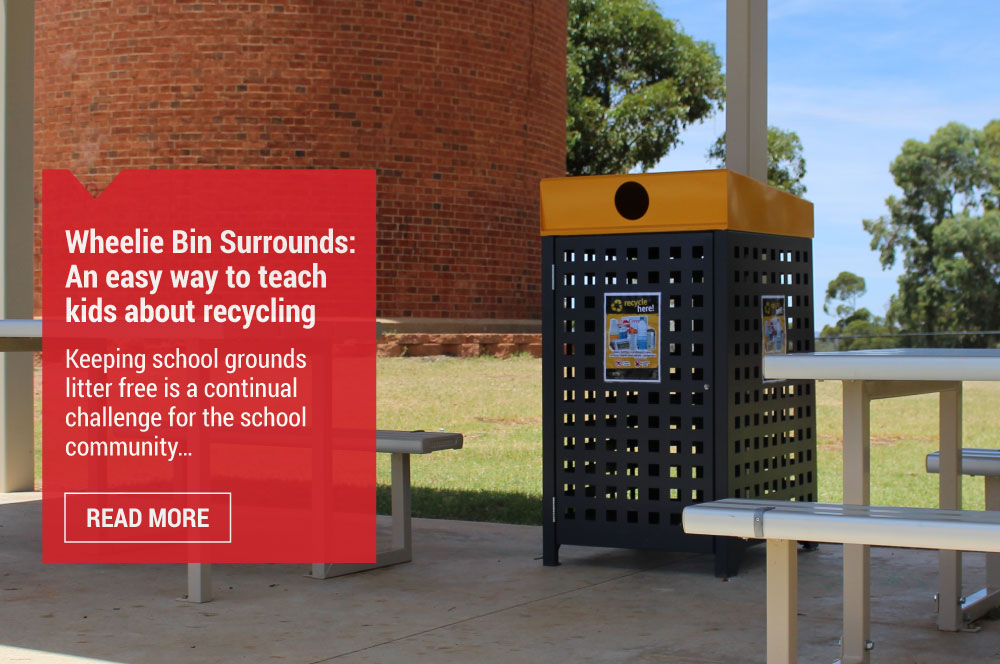 Wheelie Bins Surrounds: an easy way to teach kids about recycling