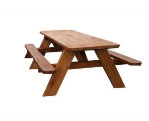 Classic Timber Picnic Setting