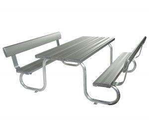 Felton Park Setting with Backrests