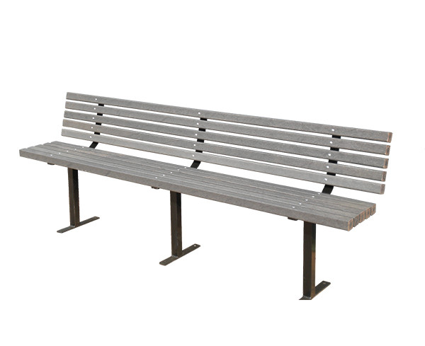Peak Above Ground Bench Seat With Backrest