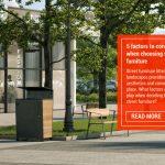 Felton Industries 5 Factors to Consider When Choosing Street Furniture