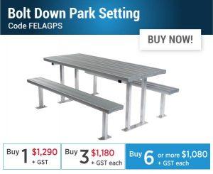 Felton EOFY Bolt Down Park Setting Offer